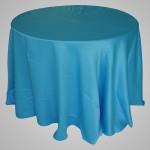 Toalha de Cetim Podange Azul Turquesa
