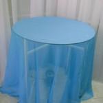 Toalha de Voil Azul Turquesa