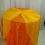 Sobre Toalha de Voil Amarela