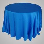 Toalha de Cetim Podange Azul Royal
