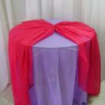 Sobre Toalha de Voil Rosa Pink
