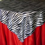 Sobre Toalha Estampa de Zebra